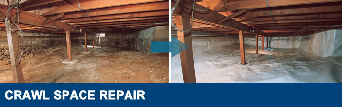 Washington Crawl Space Repair